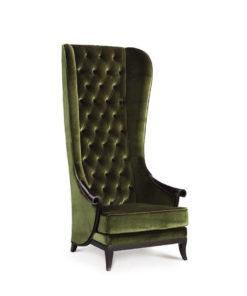 Sofa high back arm chair
