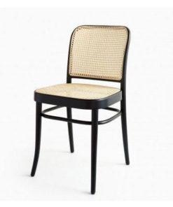 Wooden rattan chair