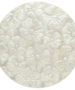 Seashell capiz placemat