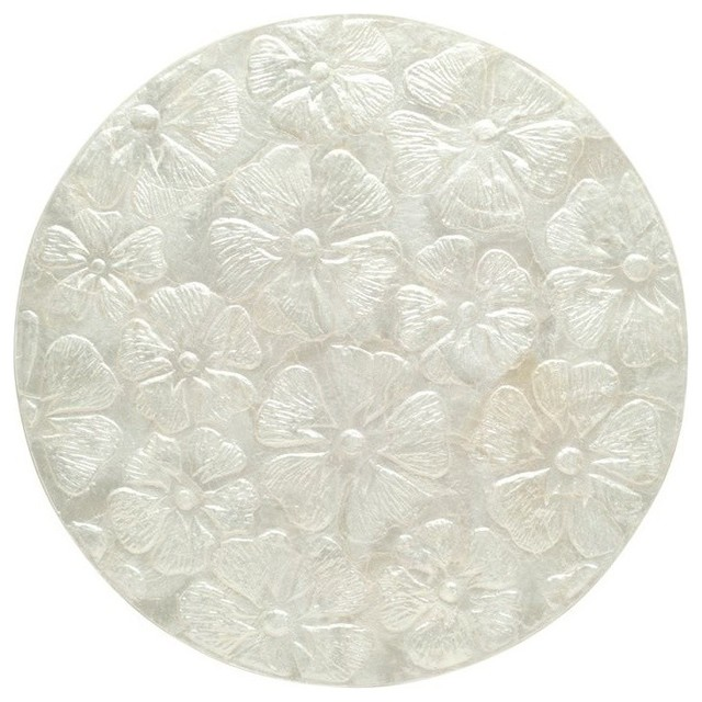 Seashell capiz placemat