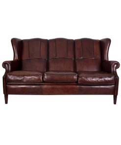 Cow leather sofa