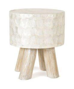 Capiz stool