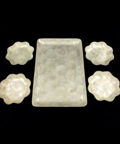 Seashell capiz tray