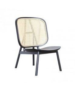 Wooden rattan chair