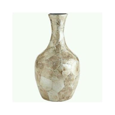 Seashell capiz vase