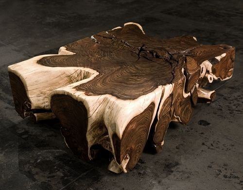 Rosewood Bonggol Root Coffee Table