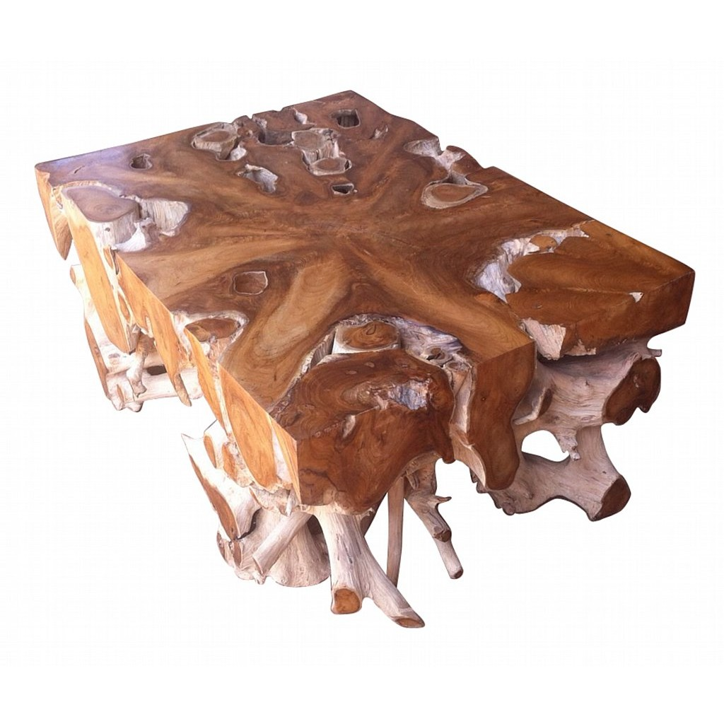Square Root Bonggol Tempel Table Surya Java Furnindo Cv
