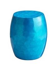 Seashell capiz stool