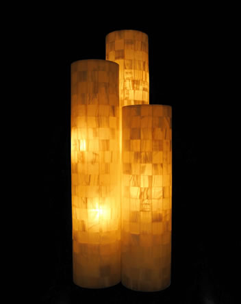 Wayan onyx table lamp surya java furnindo cv wayan onyx table lamp mozeypictures Images