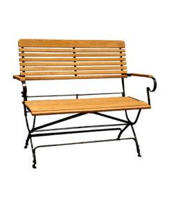 iron wood garden furniture