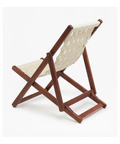 macrame rope lazy chair