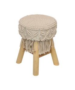 alenea macrame stool