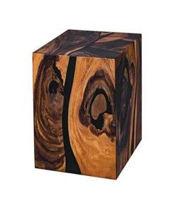 Wooden resin stool