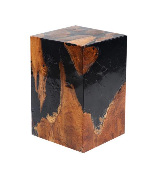 Resin wood stool