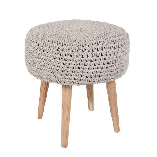 Loody macrame stool