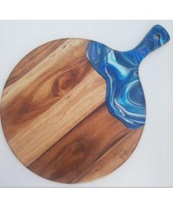 resin wood cheeseboard