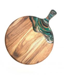 Resin wood cheeseboard