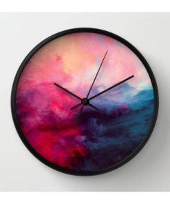 resin wood clock