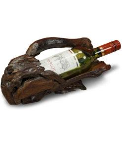 Sinora wooden bottle holder