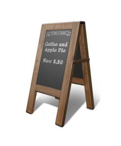 Cafe Standing Menu Board