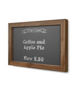 Wall menu board