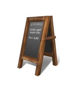 Cafe Standing Menu Board T2