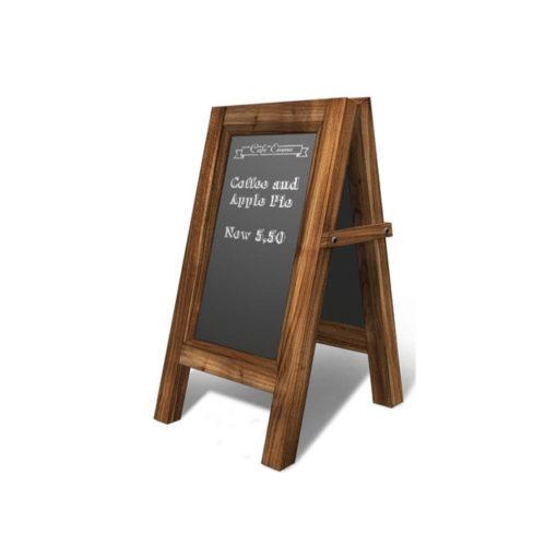 Cafe Standing Menu Board T2